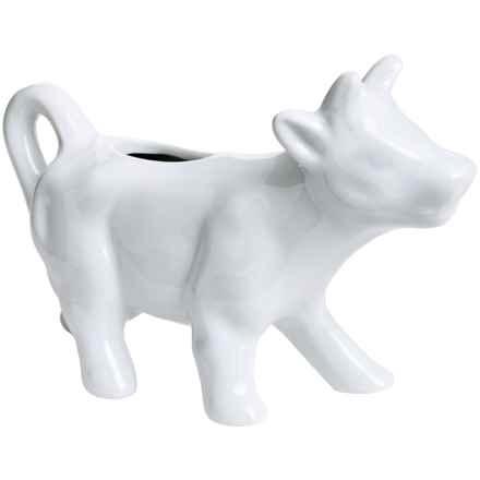 BIA Cordon Bleu Porcelain Cow Creamer in White - Closeouts