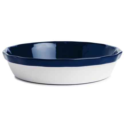 "BIA Cordon Bleu Porcelain Pie Dish - 9-1/2"" in Cobalt - Closeouts"