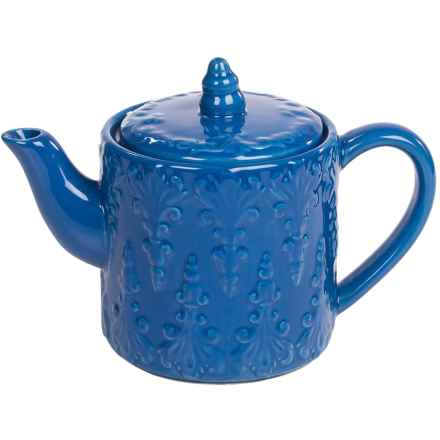BIA Cordon Bleu Teapot - 0.75 qt. in Blue - Closeouts