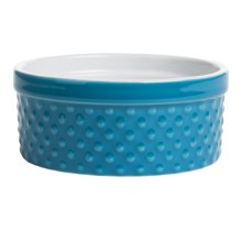 BIA Cordon Bleu Textured Souffle Dish in Neptune Dot - Closeouts