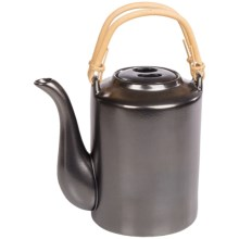 BIA Cordon Bleu Traditional Tea Pot in Ebony - Closeouts
