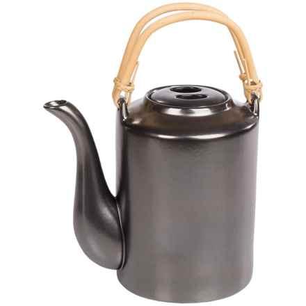 BIA Cordon Bleu Traditional Teapot - 54 fl.oz. in Ebony - Closeouts
