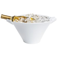 "BIA Cordon Bleu Wine Cask/Salad Bowl - 13"" in White - Closeouts"