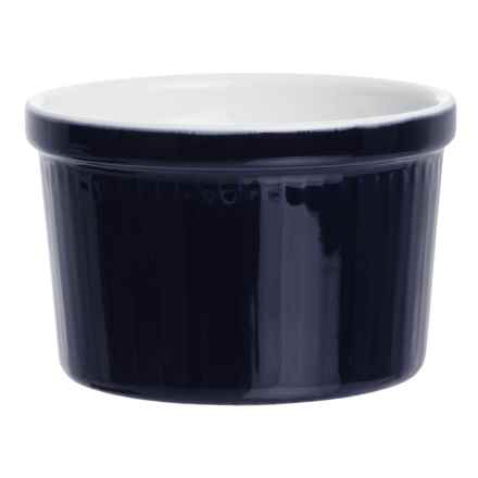 BIA Cordon Blue Textured Porcelain Ramekin - 12 oz. in Vertical Cobalt - Closeouts