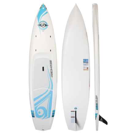 BIC Sport 11' ACE-TEC Wing Stand-Up Paddle Board in White/Blue - Closeouts
