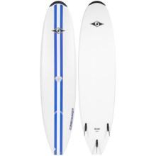"""BIC Sport Mini Malibu Classic Surfboard - 7'3"""" in Blue - Closeouts"""