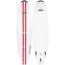 """BIC Sport Mini Malibu Classic Surfboard - 7'3"""" in Red - Closeouts"""