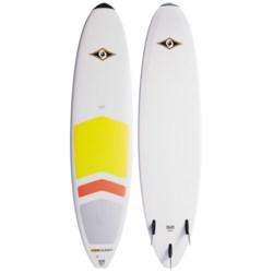 "BIC Sport Mini Malibu Padded Surfboard - 7'3"" in See Photo"