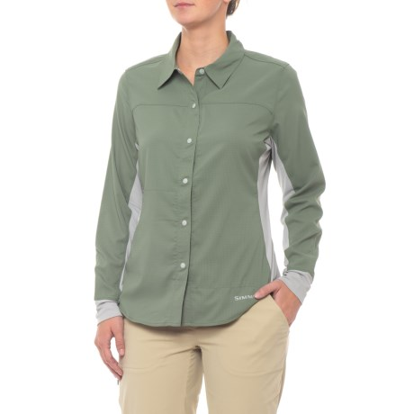 Image of Bicomp Shirt - UPF 30+, Long Sleeve (For Women)