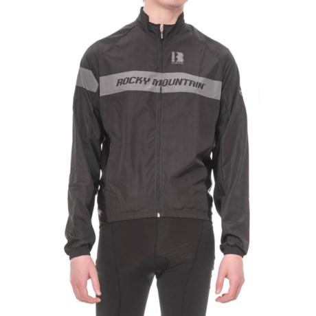 Biemme Rocky Mountain Classic Cycling Jacket (For Men) in Black/Grey