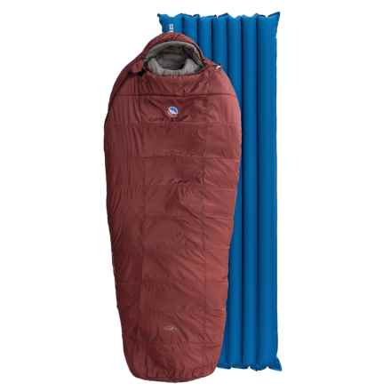Big Agnes 15°F Rock Creek Sleeping Bag with Sleeping Pad in Red - Closeouts