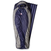 Big Agnes 20°F Gold Creek Sleeping Bag with Sleeping Pad - Rectangular, Synthetic in Navy/Grey - Closeouts