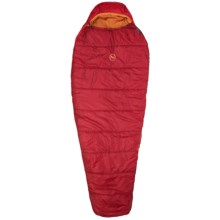Big Agnes 30°F Atlantic Point Sleeping Bag - Long, Mummy in Red - Closeouts