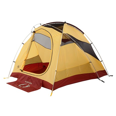 Big Agnes Big House 6 Tent - 6-Person, 3-Season in Yellow/Red