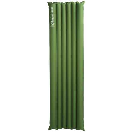 Big Agnes Burgess Creek Air Sleeping Pad - Inflatable, Regular in Green - Closeouts