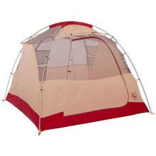 Big Agnes Chimney Creek 4 mtnGLO® Tent - 4-Person, 3-Season in Orange/Cream/Salsa - Closeouts