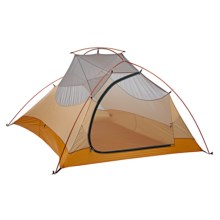 Big Agnes Fly Creek Ultralight 3 Tent - 3-Person, 3-Season in Cool Grey/Gold - Closeouts