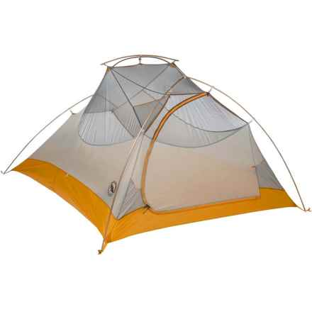Big Agnes Fly Creek Ultralight 3 Tent - 3-Person, 3-Season in Silver/Gold - Closeouts
