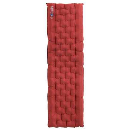 Big Agnes Insulated Q-Core Sleeping Pad - Inflatable, Long in Burnt Orange - Closeouts