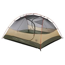 Big Agnes Jack Rabbit SL4 Tent - 4-Person, 3-Season in Olive/Rust - Closeouts