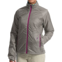 Big Agnes Marvine Jacket - Insulated (For Women) in Cool Gray/Turquoise - Closeouts
