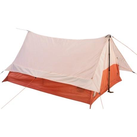 Big Agnes Pioneer 2 Tent with Footprint - 2-Person, 3-Season in Orange/Cream