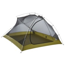 Big Agnes Seedhouse 3 2014 Tent with Footprint - 3-Person, 3-Season in Grey/Curry Yellow - Closeouts
