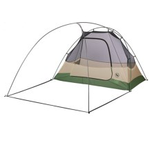 Big Agnes Wyoming Trail SL Tent with Footprint - 2-Person, 3-Season, Footprint in Champagne/Green - Closeouts