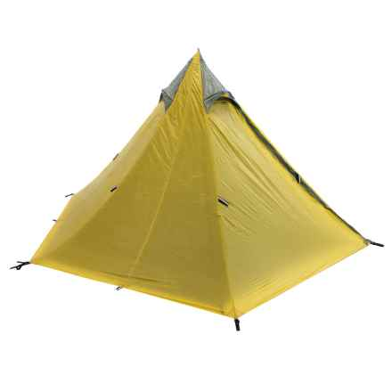 Big Agnes Yahmonite Tent - 5-Person, 3-Season in Yellow - Closeouts
