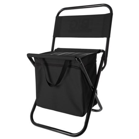 Big Backyard Camping Cooler/Seat in Black