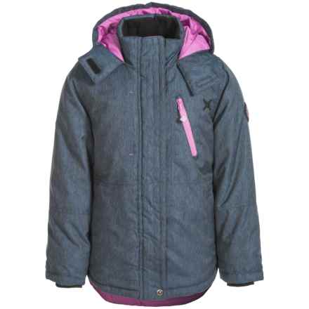 Big Chill Board Jacket - Insulated (For Big Girls) in Blue Jean - Closeouts