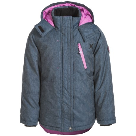 Big Chill Board Jacket - Insulated (For Big Girls) in Blue Jean