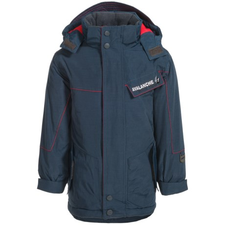 Big Chill Board Ski Jacket - Insulated (For Little Boys) in Navy