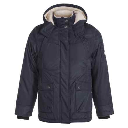 Big Chill Expedition Jacket - Insulated (For Big Girls) in Charcoal - Closeouts