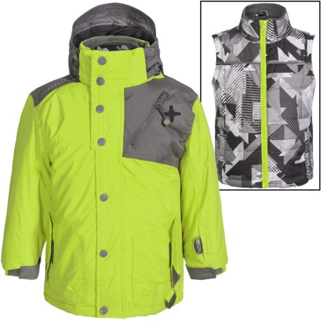 Big Chill Freestyle Jacket - 3-in-1, Insulated (For Big Boys) in Mantis