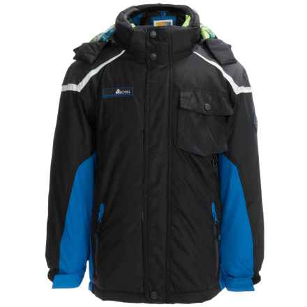 Big Chill Hooded Systems Jacket - 3-in-1, Insulated (For Big Boys) in Black - Closeouts
