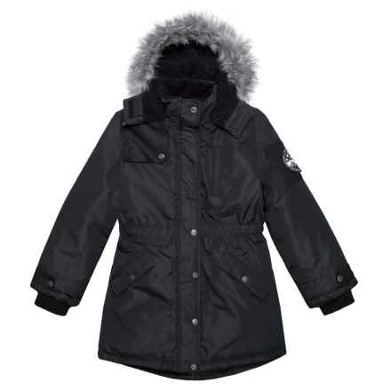 Big Chill Long Expedition Jacket - Insulated (For Big Girls) in Black - Closeouts