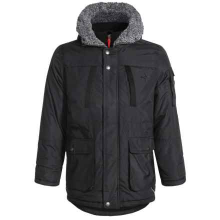 Big Chill Vestee Expedition Jacket - Insulated (For Big Boys) in Black - Closeouts