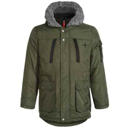Big Chill Vestee Expedition Jacket - Insulated (For Little Boys) in Forest - Closeouts