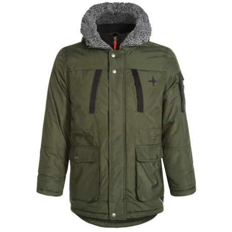 Big Chill Vestee Expedition Jacket - Insulated (For Little Boys) in Forest