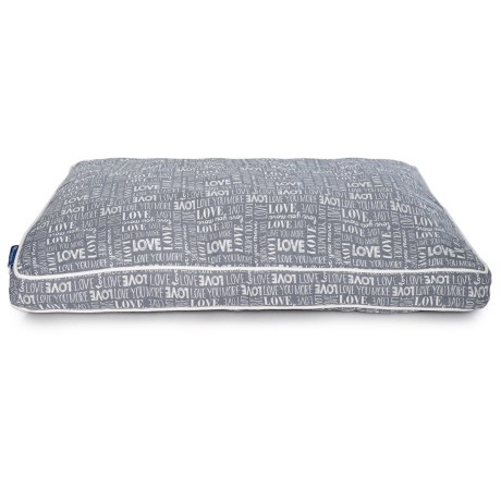 Image of Big Love Script Rectangle Dog Bed - 28x40?