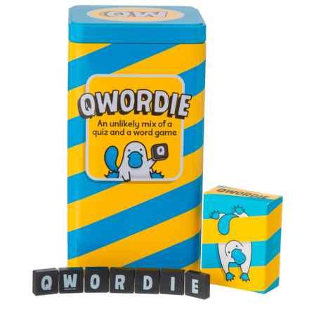 Big Potato Qwordie Game in Teal/Yellow - Closeouts