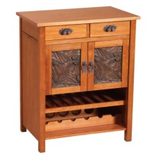 Big Sky Carvers Pinecone Buffet Table - Parawood in See Photo - Closeouts