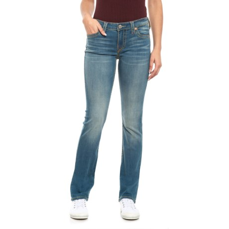 Image of Big T Jeans - Slim Fit, Straight Leg (For Women)