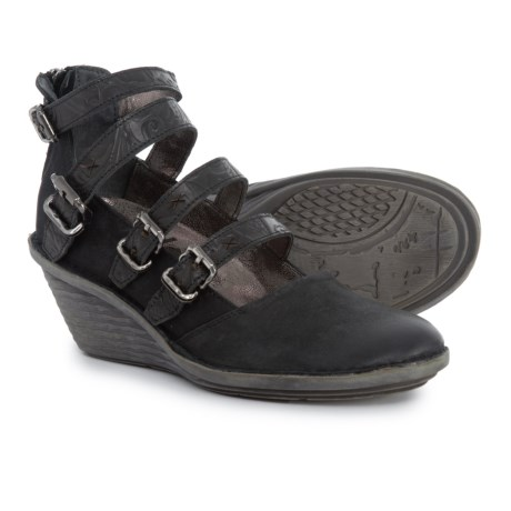 Image of Biker Mary Jane Shoes - Leather (For Women)