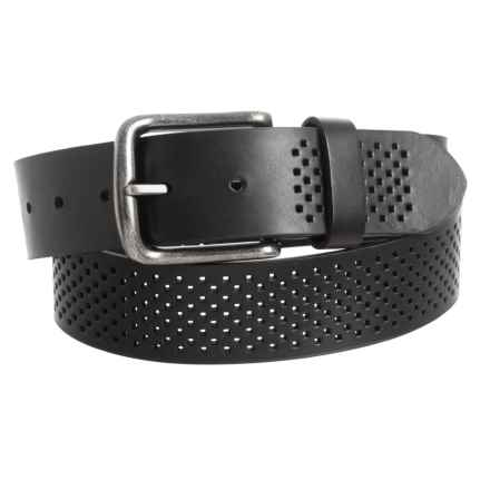 Bill Adler Alexander Belt - Leather (For Men) in Black - Closeouts
