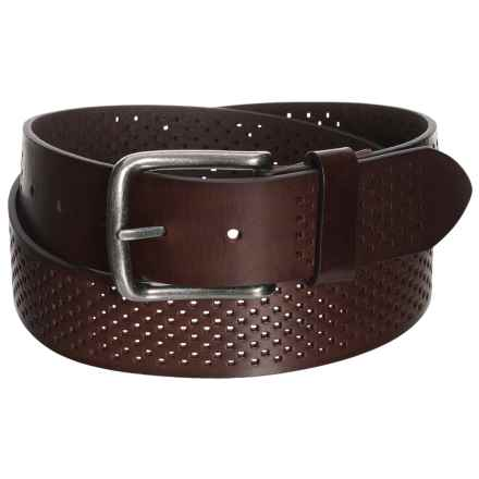 Bill Adler Alexander Belt - Leather (For Men) in Brown - Closeouts