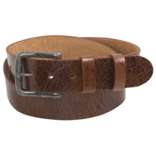 Bill Adler Ashland Belt - Leather (For Men) in Brown - Closeouts
