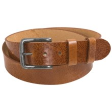 Bill Adler Ashland Belt - Leather (For Men) in Tan - Closeouts