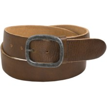 Bill Adler Bismarck Belt - Leather (For Men) in Tan - Closeouts